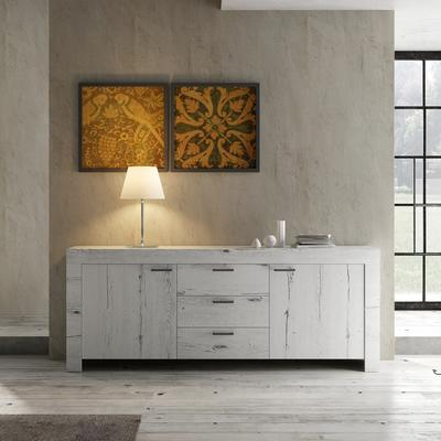 Livorno Two Door Three Drawer Sideboard - White Oak image 2