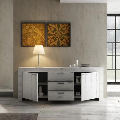 Livorno Two Door Three Drawer Sideboard - White Oak image 3