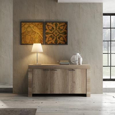 Livorno Three Door Sideboard - San Remo Oak Finish image 2