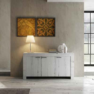 Livorno Three Door Sideboard - White Oak Finish image 2