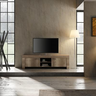 Livorno Large TV Unit - San Remo Oak Finish image 2