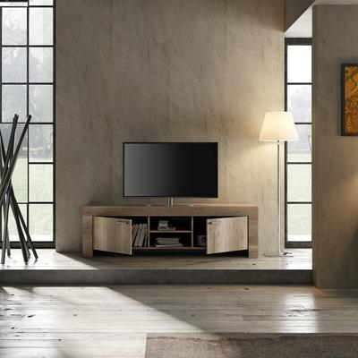 Livorno Large TV Unit - San Remo Oak Finish image 3