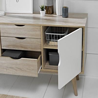 Scuna 2 door 3 drawer sideboard image 5