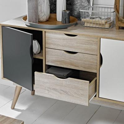 Scuna 2 door 3 drawer sideboard image 6
