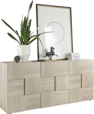 Treviso Sideboard - Three Doors Samoa Oak Finish