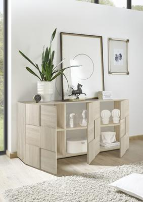 Treviso Sideboard - Three Doors Samoa Oak Finish image 2