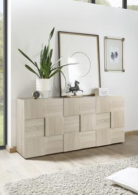 Treviso Sideboard - Three Doors Samoa Oak Finish image 3
