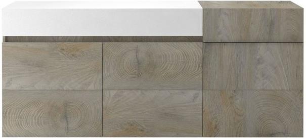 Brio 3 door 1 drawer sideboard image 2