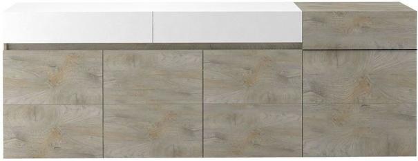 Brio 4 door 2 drawer sideboard image 2