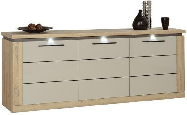Oslo 3 door sideboard (with lighting)