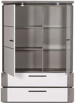 Oslo 2 door 2 drawer display unit image 6