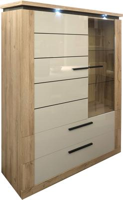 Oslo 2 door 2 drawer display unit image 7