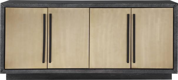 Camden Ebony and Brass Sideboard image 2