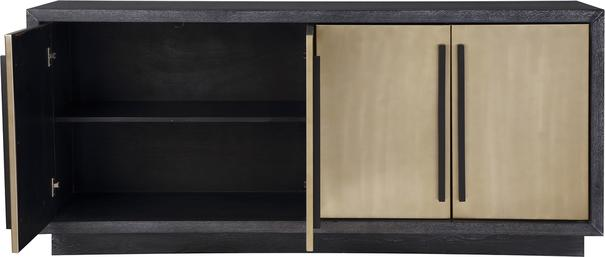 Camden Ebony and Brass Sideboard image 3
