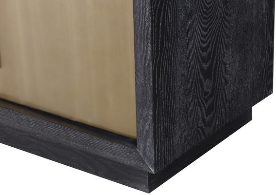 Camden Ebony and Brass Sideboard image 5