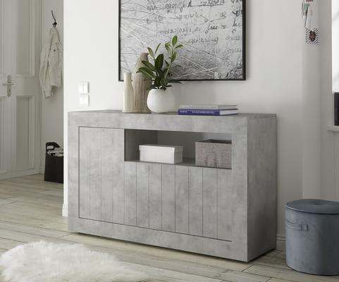 Como Three Door Sideboard - Grey Finish