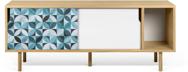 Dann (tiles) 2 door sideboard image 2