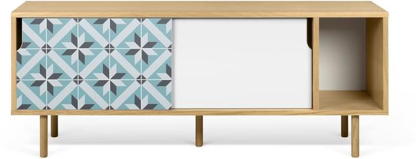Dann (tiles) 2 door sideboard image 3