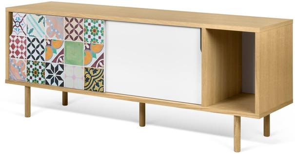 Dann (tiles) 2 door sideboard image 7