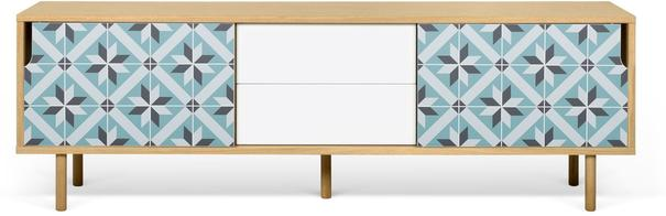 Dann (tiles) 2 door 2 drawer sideboard image 3