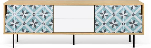 Dann (tiles) 2 door 2 drawer sideboard image 6
