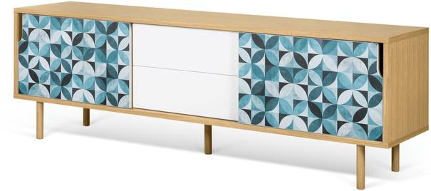 Dann (tiles) 2 door 2 drawer sideboard image 9