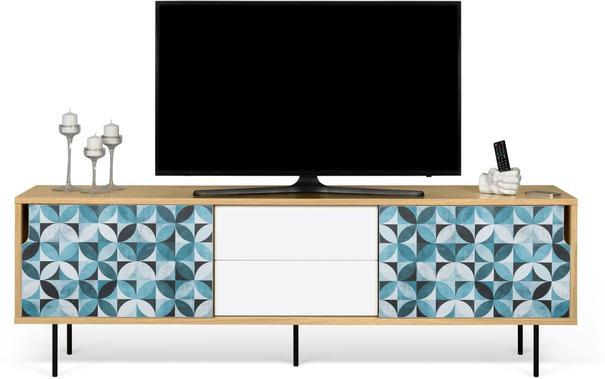 Dann (tiles) 2 door 2 drawer sideboard image 10
