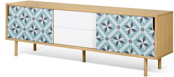 Dann (tiles) 2 door 2 drawer sideboard image 11