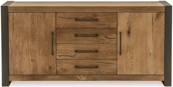 Lindar 2 door 4 drawer sideboard