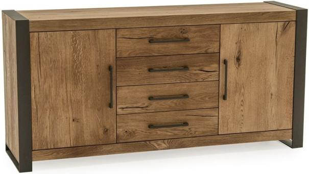 Lindar 2 door 4 drawer sideboard image 2