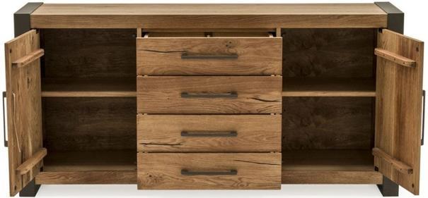 Lindar 2 door 4 drawer sideboard image 3