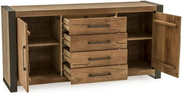 Lindar 2 door 4 drawer sideboard image 4