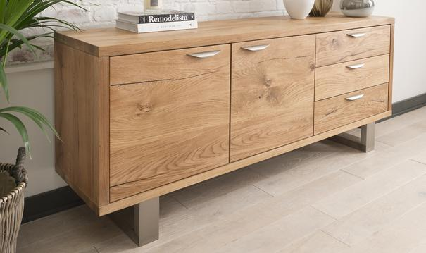 Trieste 2 door 3 drawer sideboard image 2