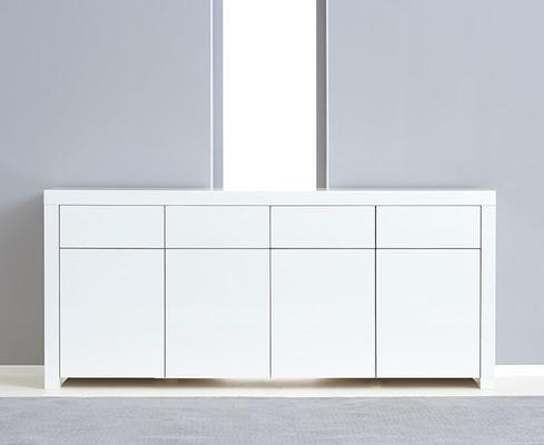 Brockton 4 door 4 drawer sideboard image 4