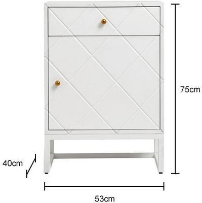 Diamond Pattern Small Cabinet image 2