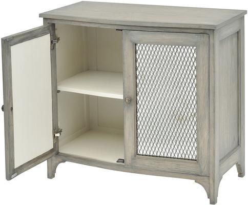 Fairmont Mindi Wood Low Cabinet image 2