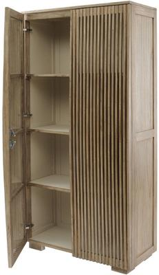 Beaulieu Mindi Wood 2 Door Tall Cabinet image 2