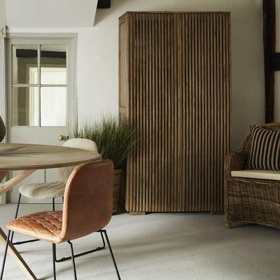 Beaulieu Mindi Wood 2 Door Tall Cabinet image 5
