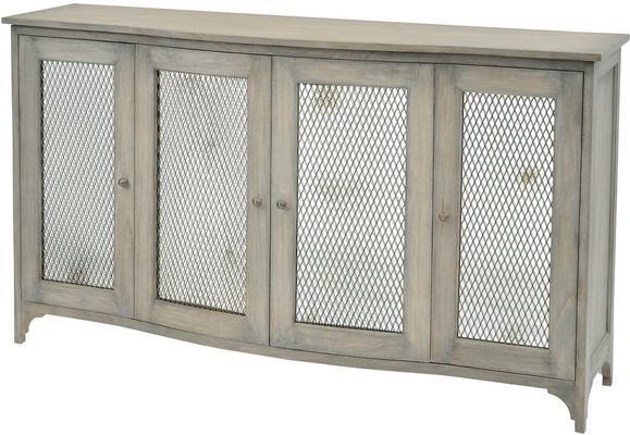 Fairmont Mindi Wood Buffet Cabinet 4 Doors