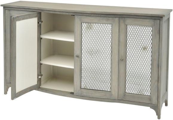 Fairmont Mindi Wood Buffet Cabinet 4 Doors image 3
