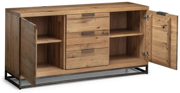 Forza 2 door 3 drawer sideboard image 3
