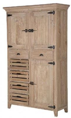 Distressed Multi-Storage Larder Cupboard