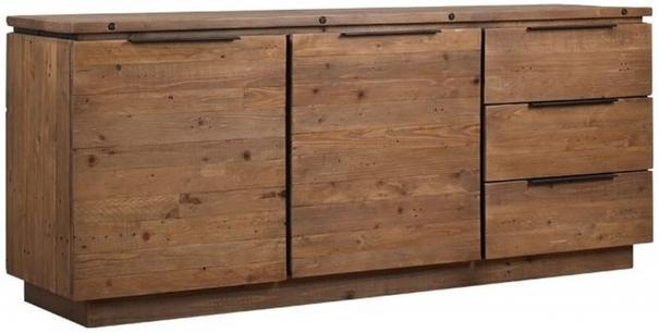 New York 2 door 3 drawer sideboard image 2