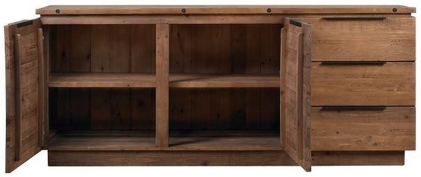 New York 2 door 3 drawer sideboard image 3