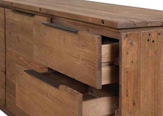 New York 2 door 3 drawer sideboard image 4