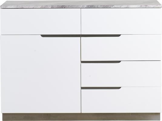 Tremiti 1 door 5 drawer sideboard