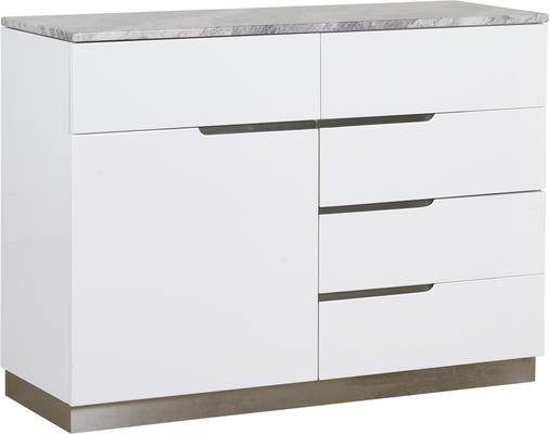 Tremiti 1 door 5 drawer sideboard image 2