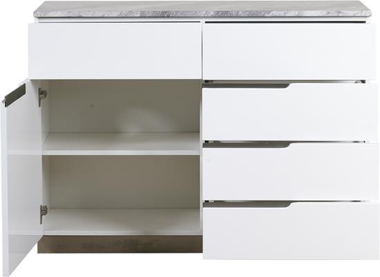 Tremiti 1 door 5 drawer sideboard image 3