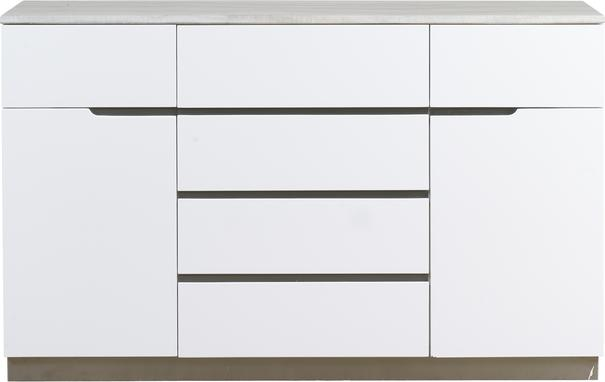 Turin 2 door 6 drawer sideboard