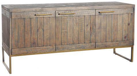 Hadley Nutmeg Large Sideboard Dark Pine
